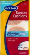 Compare the best Bunion Cushions to releive pain and friction