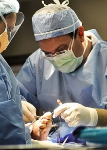 Foot bunion surgery
