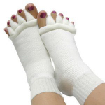Comfy Toes toe stretcher socks