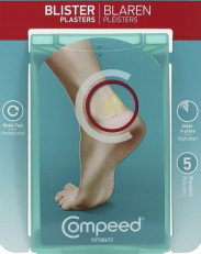 Compeed is a specially designed dressing forfoot blisters