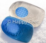 Gel heel pads are a great treatment for plantar fasciitis