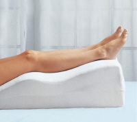 Keeping your leg elevated is a vital part of bunion surgery recovery