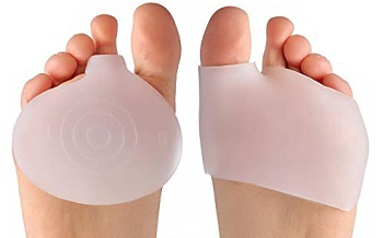 Metatarsal pads are a great way to reduce the symptoms of mortons neuroma