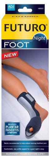 Wearing night splints is a simple way of treating plantar fasciitis