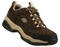 Sketchers dexter steel toe tennis shoes