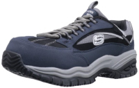 Sketchers soft stride steel toe tennis shoes
