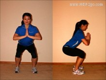 Leg exercises can often help to improve foot and ankle problems.  Approved use by www.hep2go.com