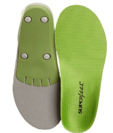 Shoe insert orthotics can help to correct over-pronation, a common cause of Cuboid Syndrome