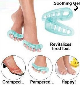 Toe separators such as the yoga toe can help relieve foot pain due to a while range of problems