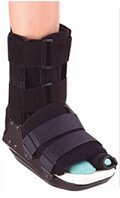 You may be given a special boot or shoe after bunion surgery to protect the foot