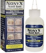Anti-fungal gel can help to treat fungal nail infections, a common cause of thick, yellow toenails
