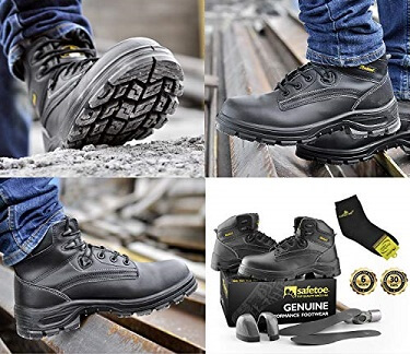 Steel Toe Work Shoes: Find the best safety footwear for you