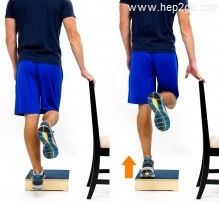 Strengthening and stretching exercises are a useful treatment tool for peroneal tendonitis.  Approved use www.hep2go.com