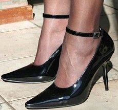 Frequent wearing of high heels can lead to heel bursitis