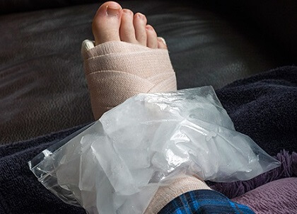 Swollen Foot Treatment: How to reduce foot and ankle swelling