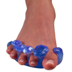 Toe stretchers are a great way to improve flexibility in the foot.